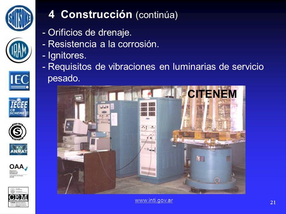 4 Construcción (continúa)