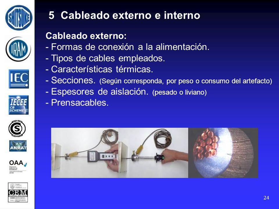 5 Cableado externo e interno