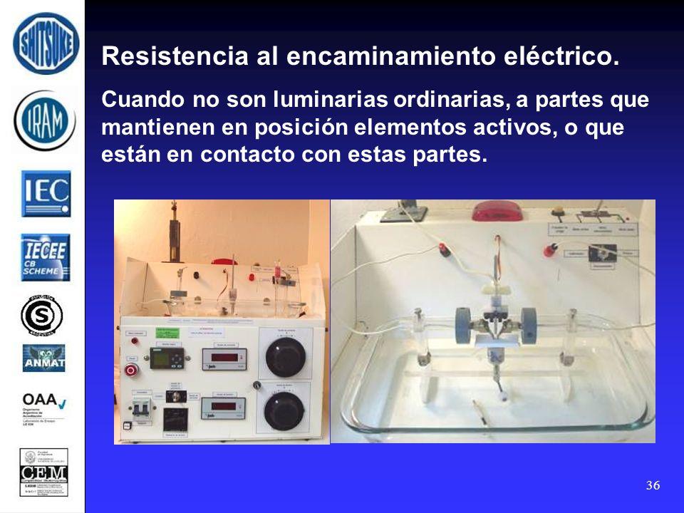 Resistencia al encaminamiento eléctrico.