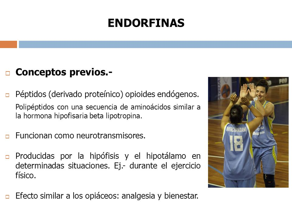 ENDORFINAS Conceptos previos.-