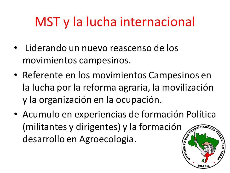 MST y la lucha internacional