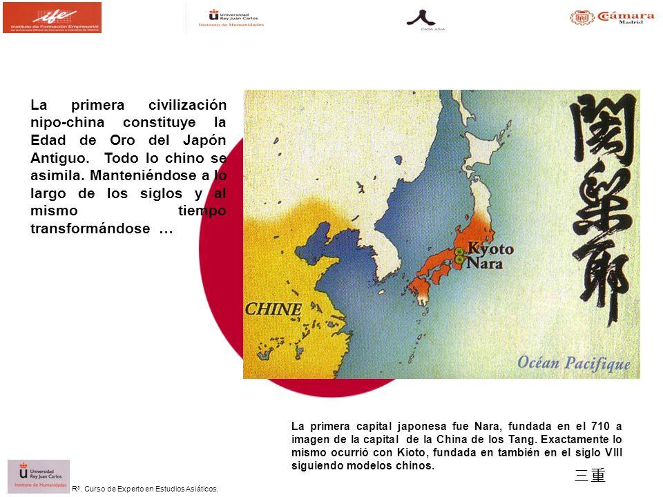 La primera civilización nipo-china constituye la Edad de Oro del Japón Antiguo. Todo lo chino se asimila. Manteniéndose a lo largo de los siglos y al mismo tiempo transformándose …
