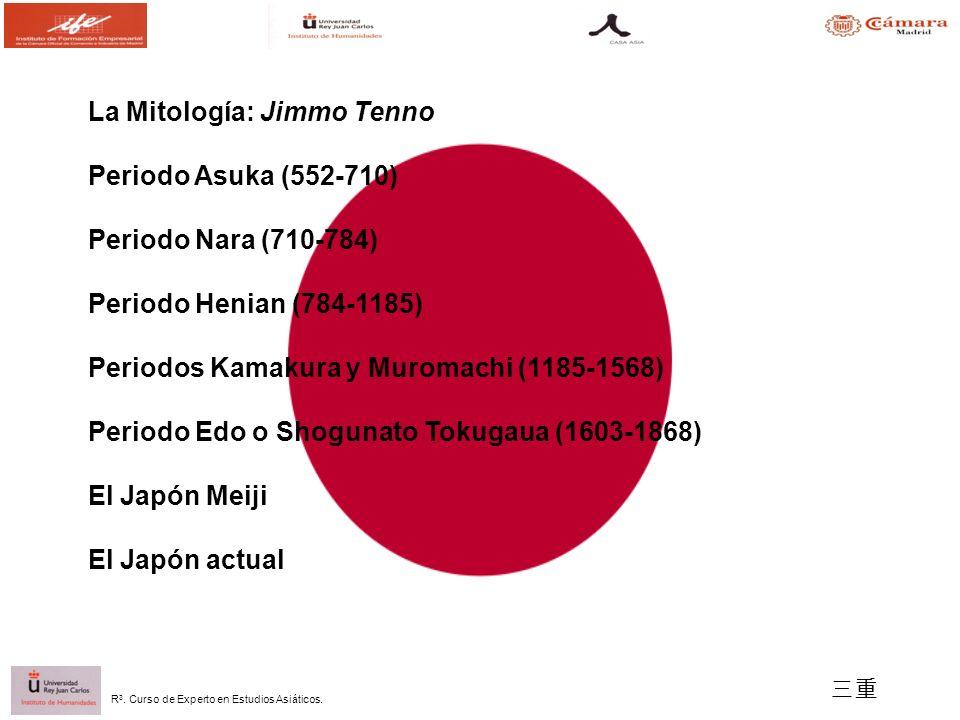 La Mitología: Jimmo Tenno Periodo Asuka (552-710)