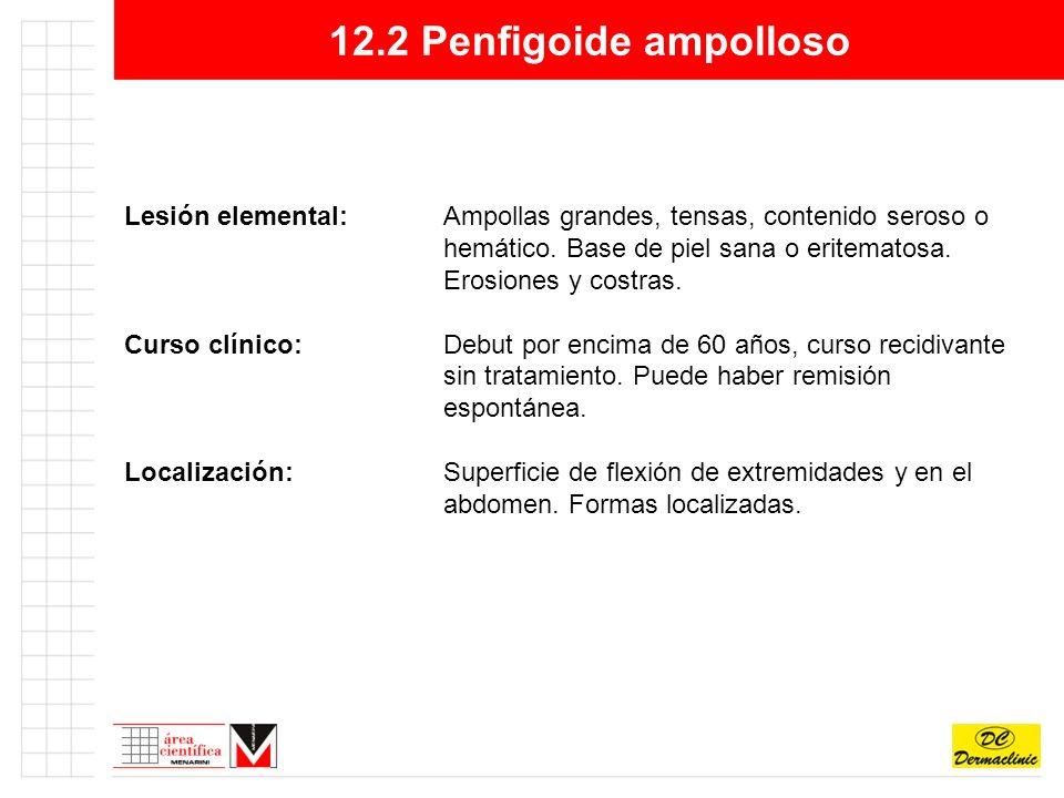 12.2 Penfigoide ampolloso