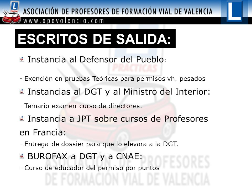 ESCRITOS DE SALIDA: Instancia al Defensor del Pueblo: