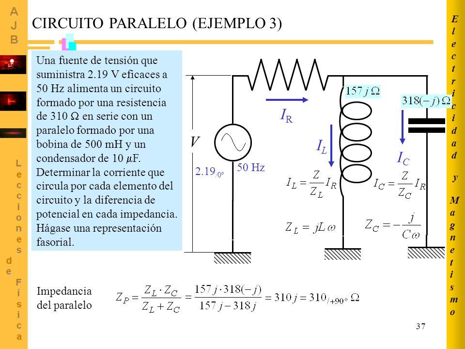 CIRCUITO PARALELO (EJEMPLO 3)