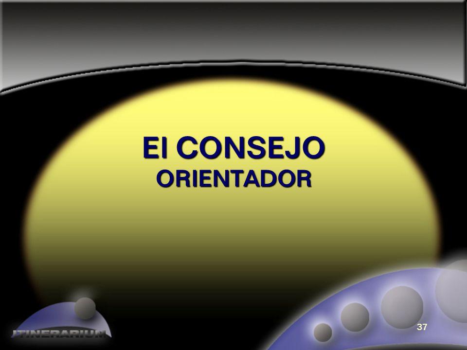 El CONSEJO ORIENTADOR