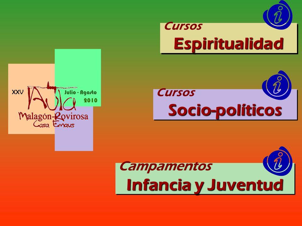 Espiritualidad Socio-políticos Infancia y Juventud