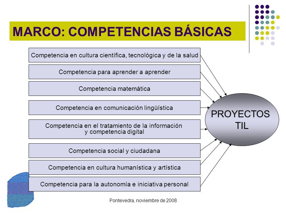 MARCO: COMPETENCIAS BÁSICAS