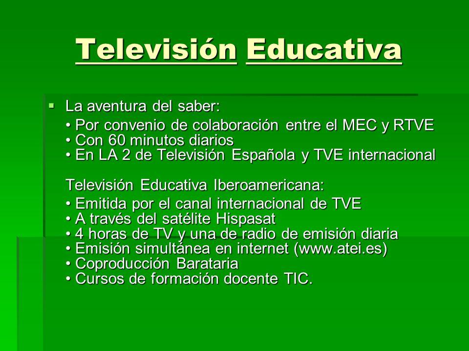 Televisión Educativa La aventura del saber: