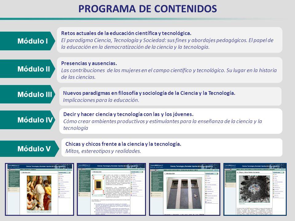 PROGRAMA DE CONTENIDOS