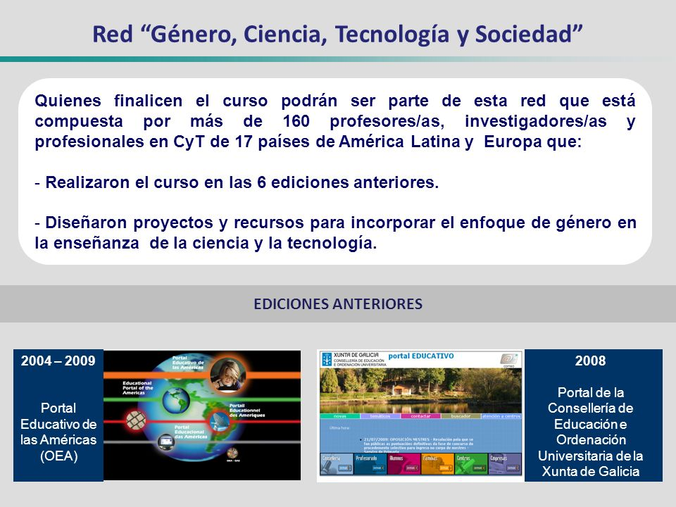 Red Género, Ciencia, Tecnología y Sociedad
