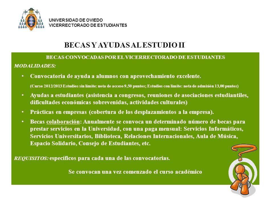 BECAS Y AYUDAS AL ESTUDIO II
