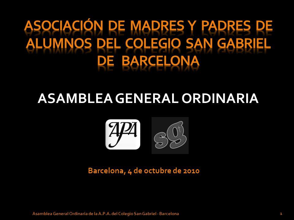 ASAMBLEA GENERAL ORDINARIA