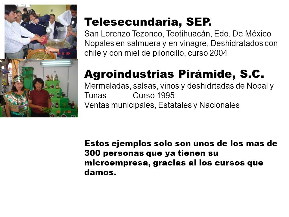 Agroindustrias Pirámide, S.C.