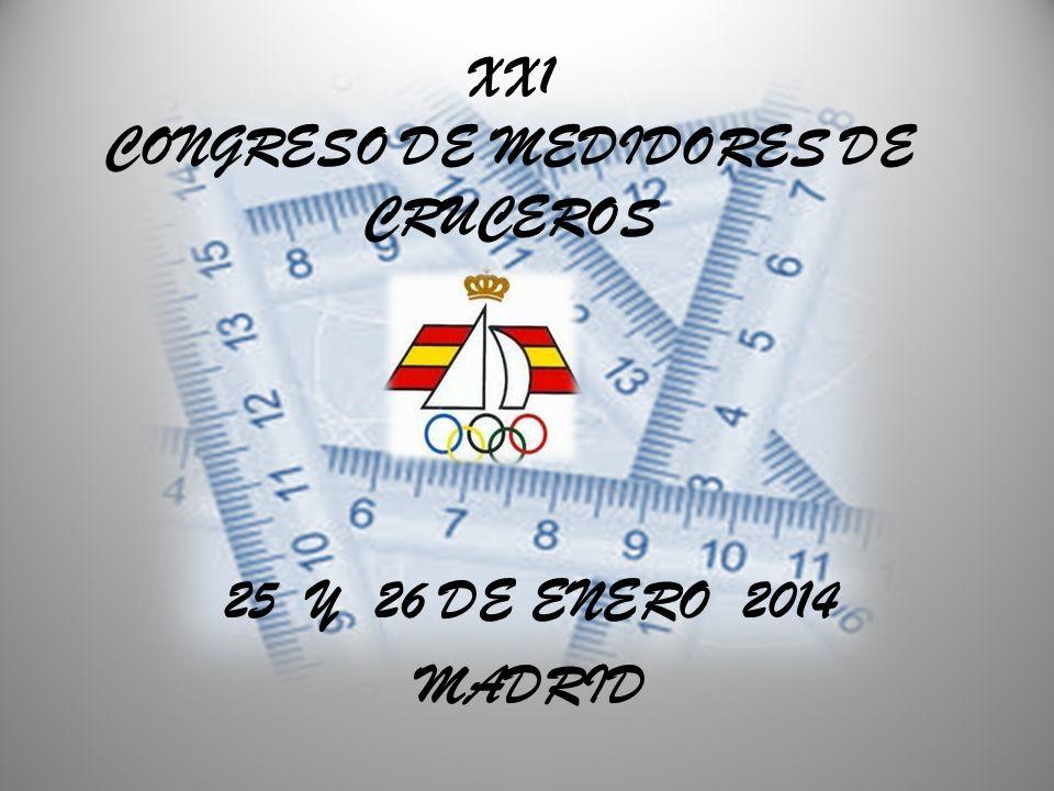 XX1 CONGRESO DE MEDIDORES DE CRUCEROS