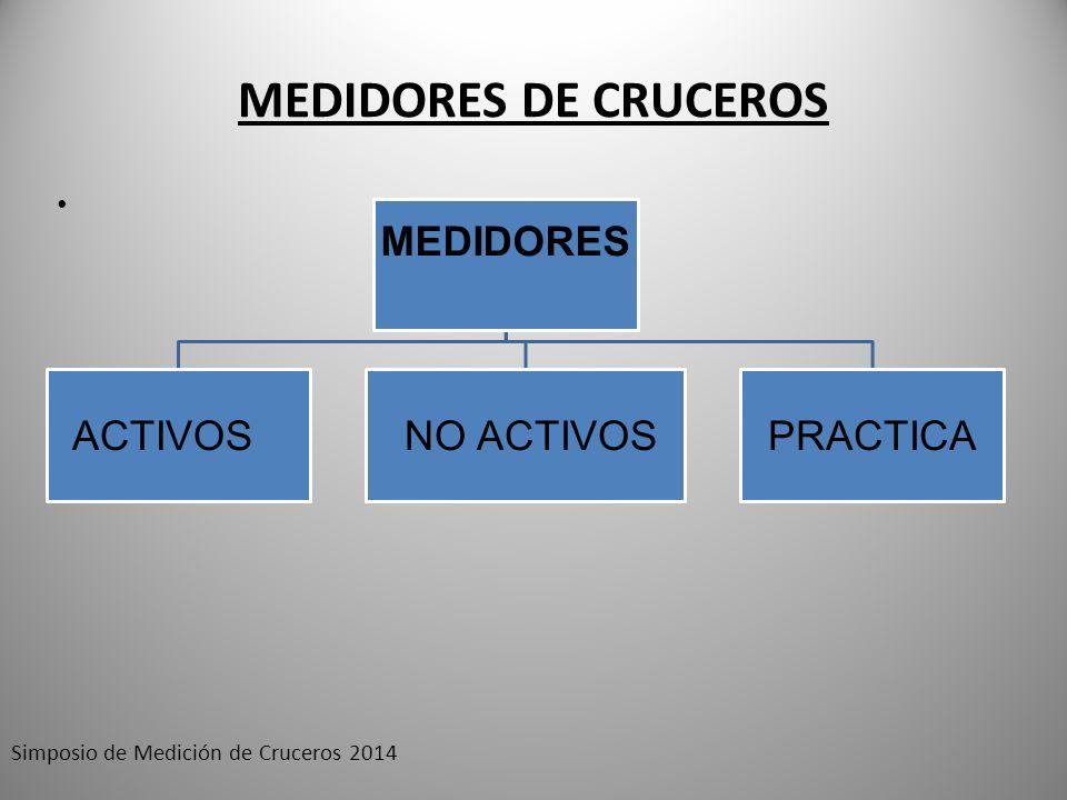 MEDIDORES DE CRUCEROS Simposio de Medición de Cruceros 2014 MEDIDORES