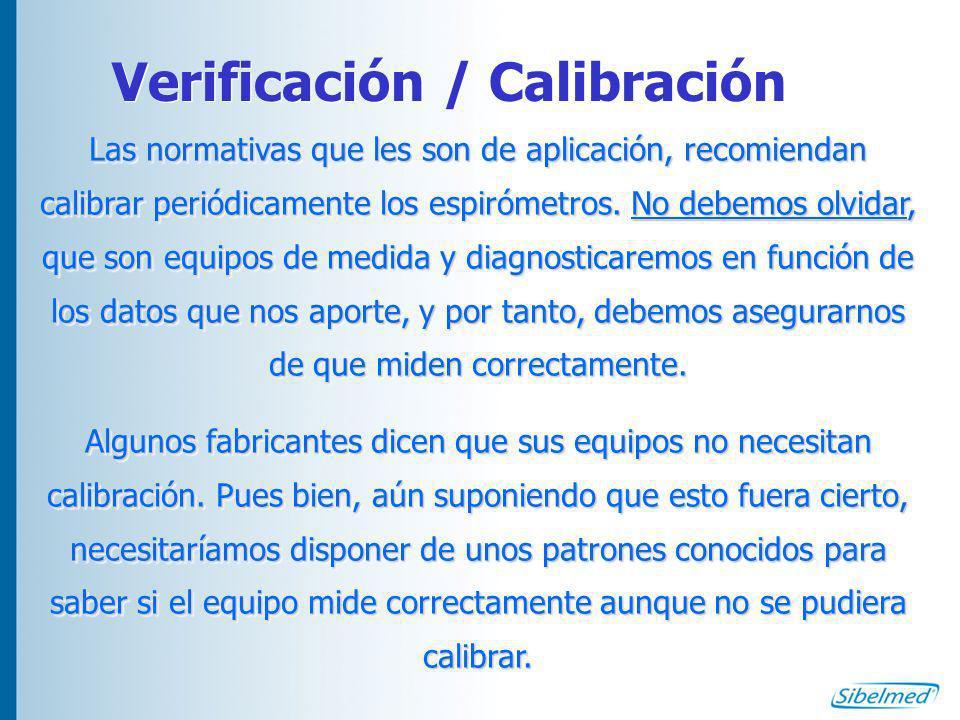 Verificación / Calibración