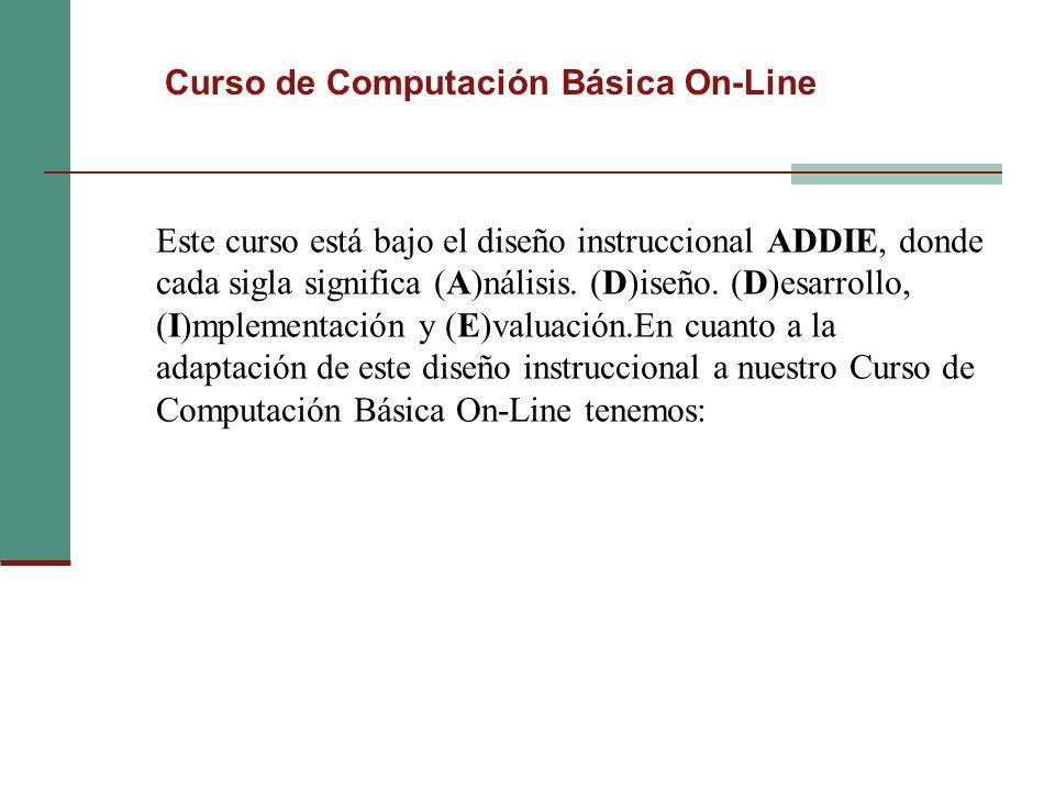 Curso de Computación Básica On-Line