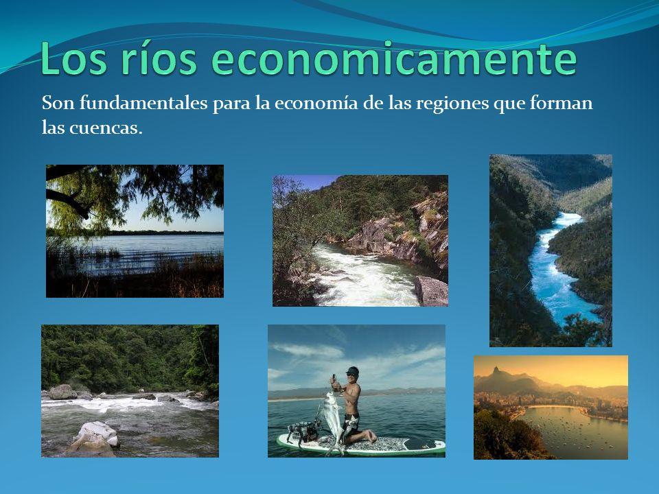Los ríos economicamente