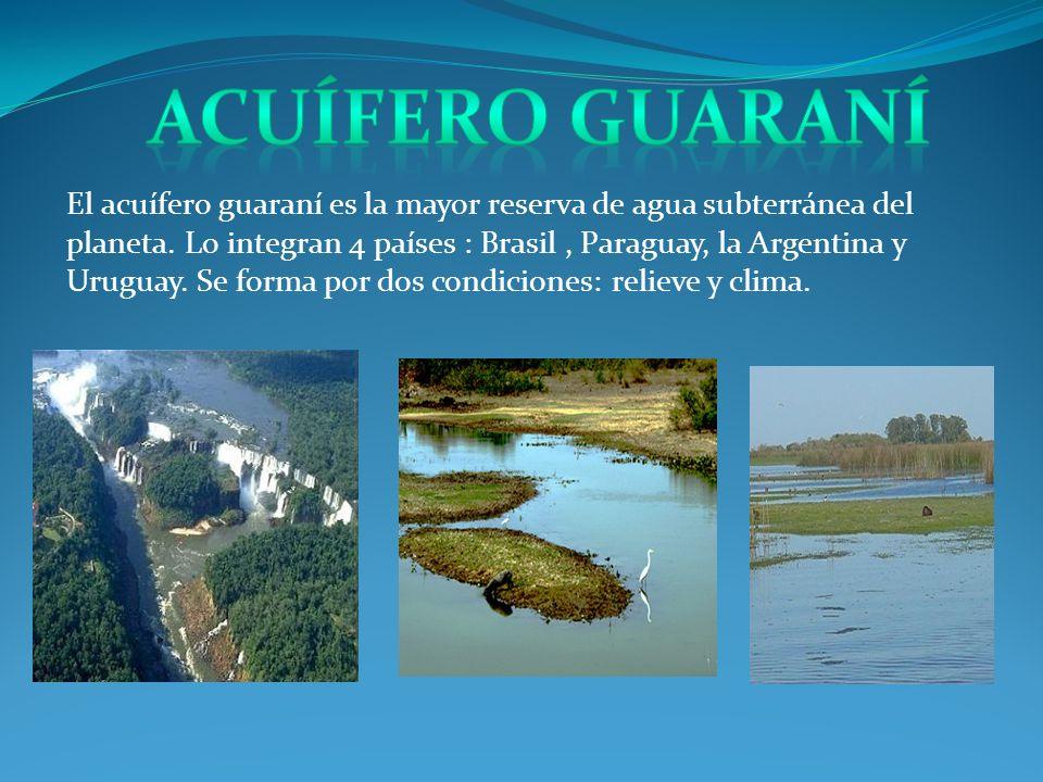 dd Acuífero Guaraní.