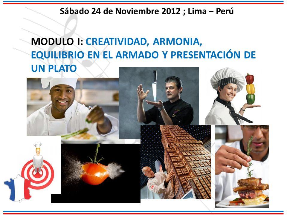 Sábado 24 de Noviembre 2012 ; Lima – Perú