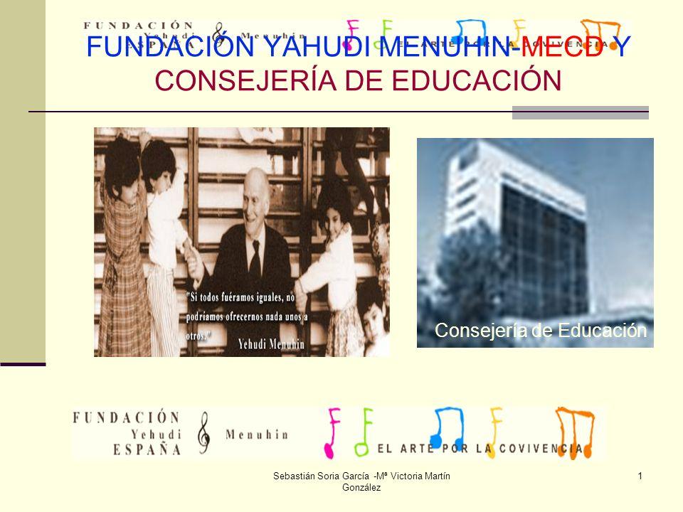 FUNDACIÓN YAHUDI MENUHIN-MECD Y CONSEJERÍA DE EDUCACIÓN