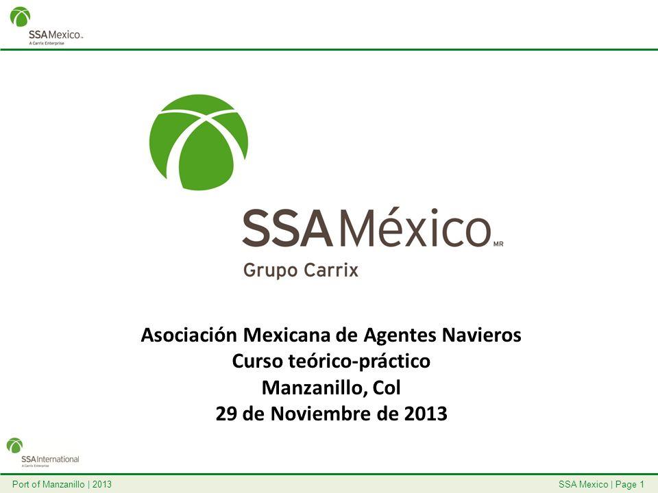 Asociación Mexicana de Agentes Navieros Curso teórico-práctico