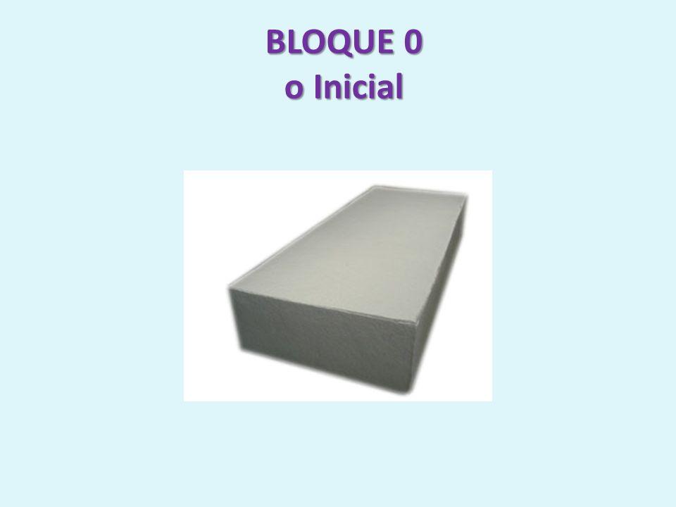 BLOQUE 0 o Inicial
