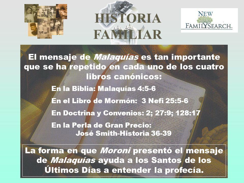 El mensaje de Malaquías es tan importante que se ha repetido en cada uno de los cuatro libros canónicos: