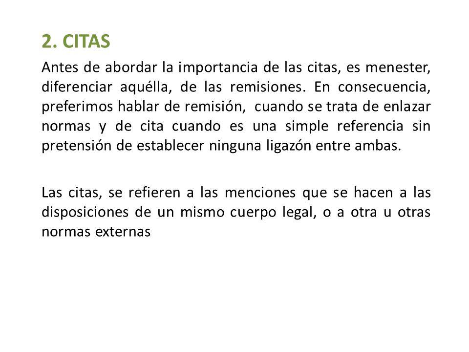 2. CITAS