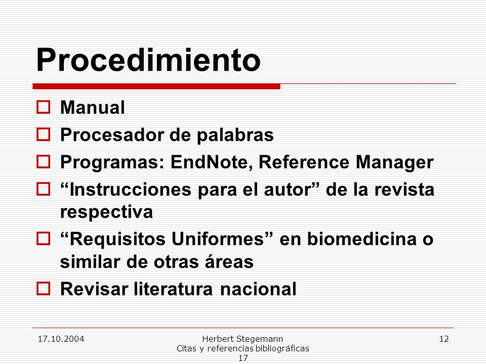 Herbert Stegemann Citas y referencias bibliográficas 17