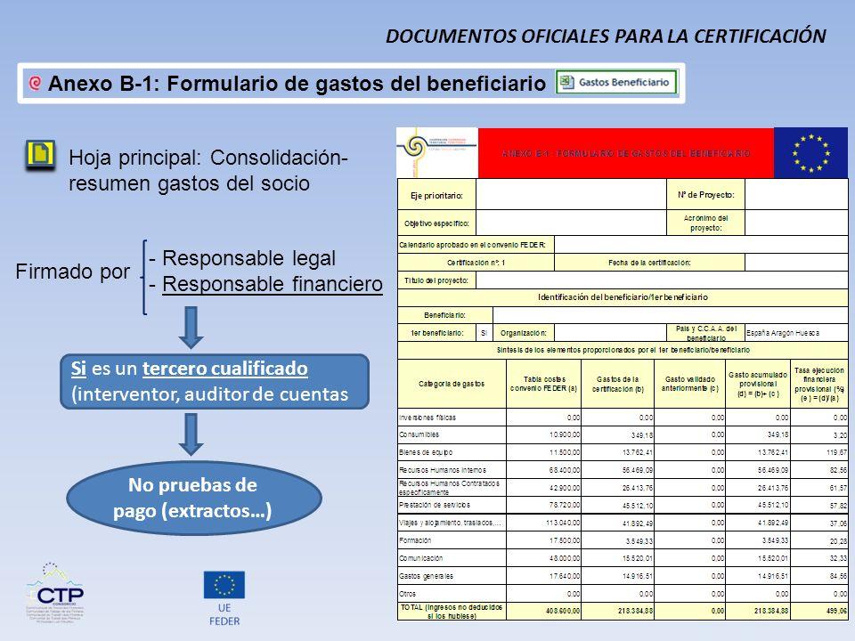 No pruebas de pago (extractos…)
