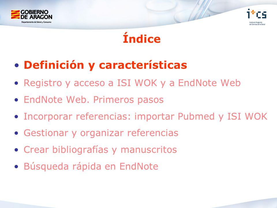 Definición y características