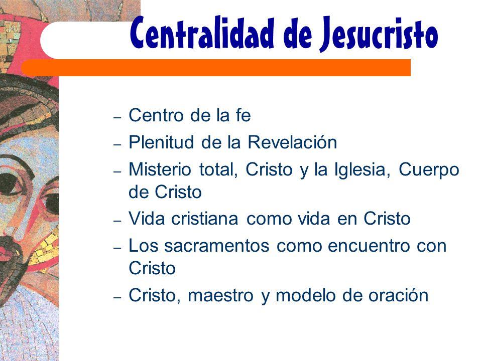 Centralidad de Jesucristo