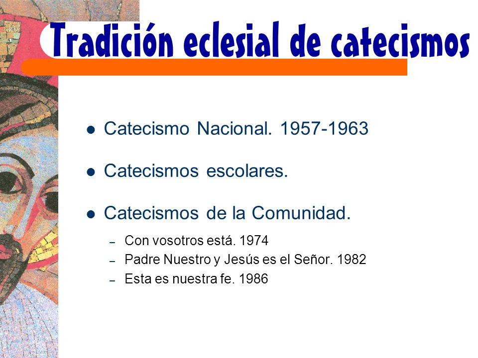 Tradición eclesial de catecismos