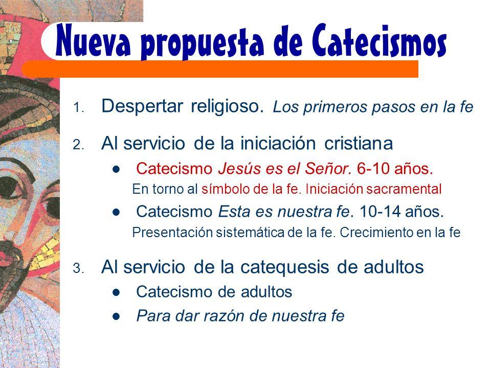 Nueva propuesta de Catecismos