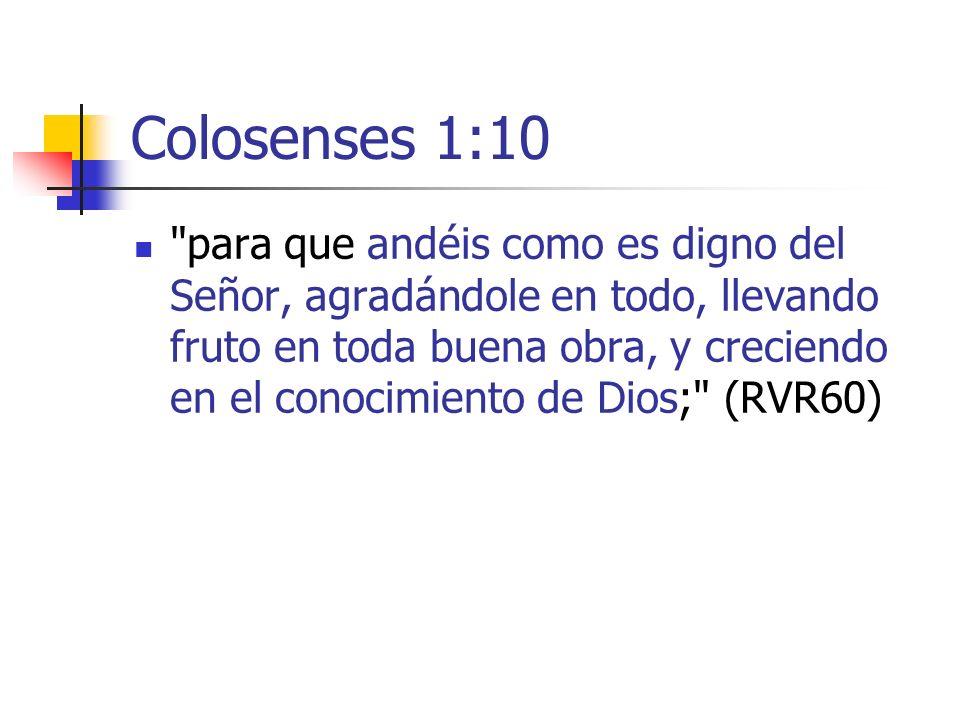 Colosenses 1:10
