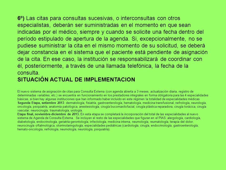 SITUACIÓN ACTUAL DE IMPLEMENTACION