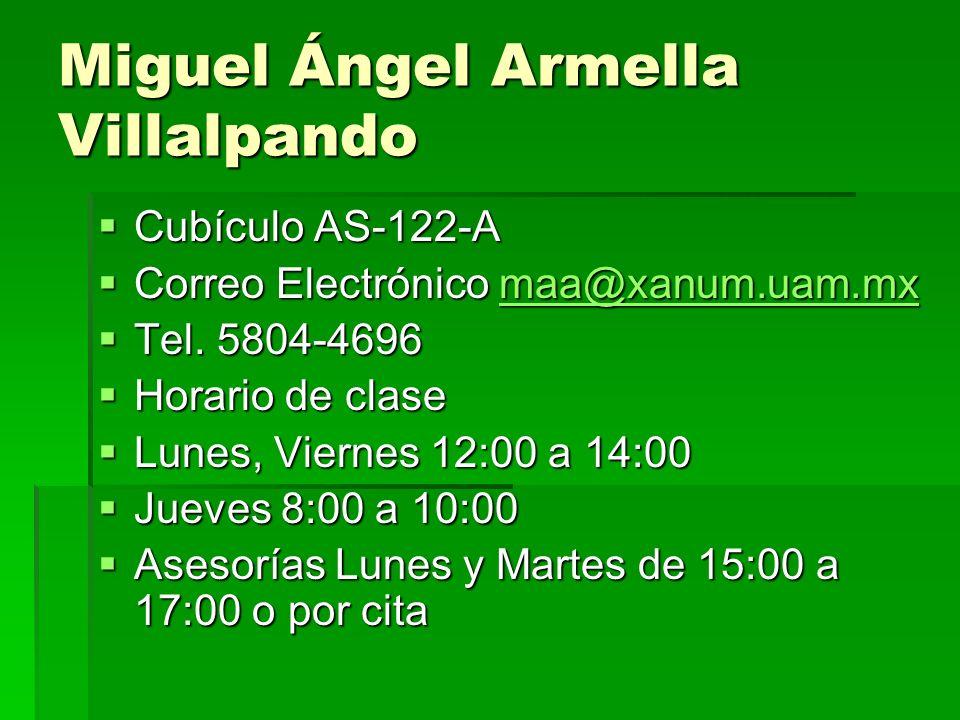 Miguel Ángel Armella Villalpando
