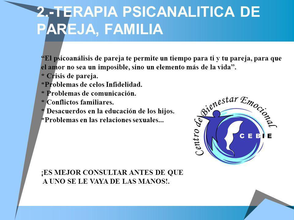 2.-TERAPIA PSICANALITICA DE PAREJA, FAMILIA