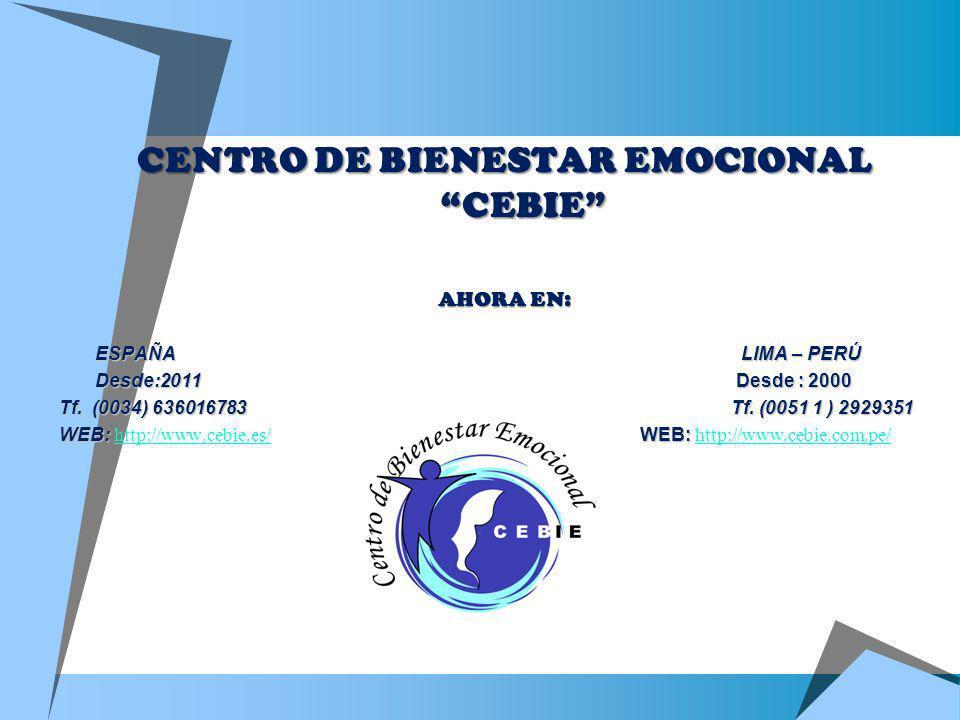 CENTRO DE BIENESTAR EMOCIONAL CEBIE