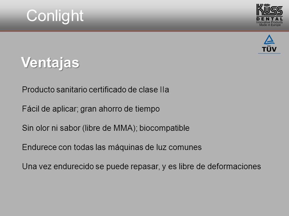 Conlight Ventajas Producto sanitario certificado de clase IIa