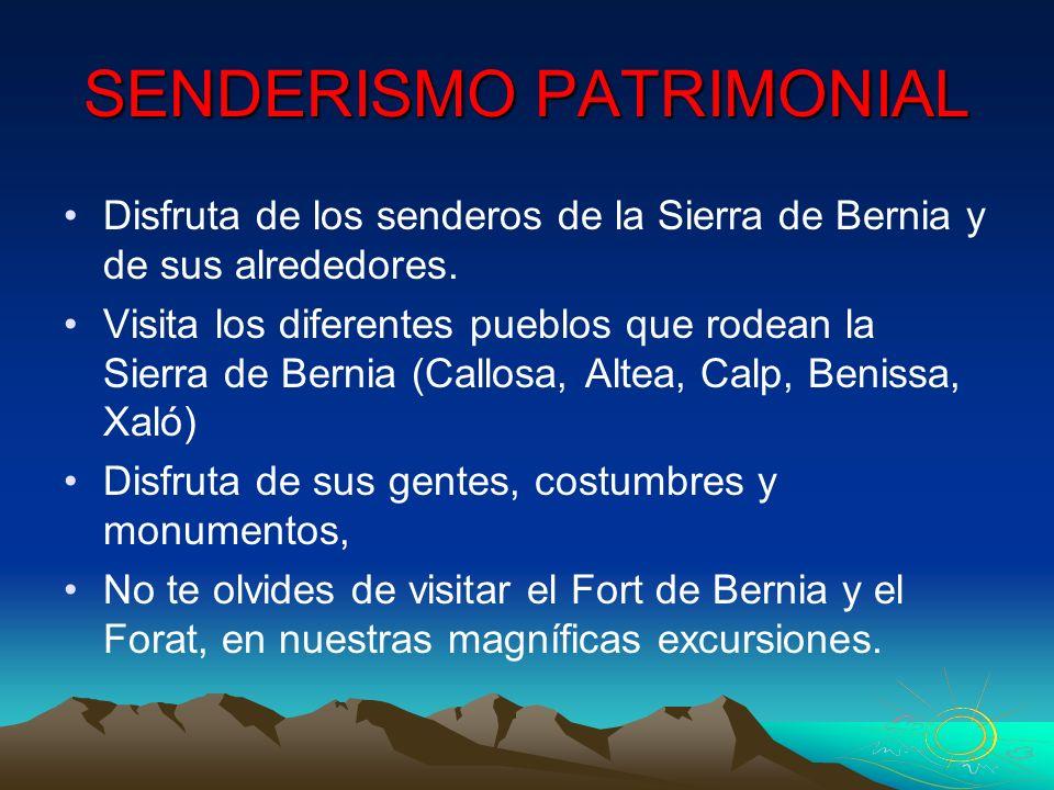 SENDERISMO PATRIMONIAL