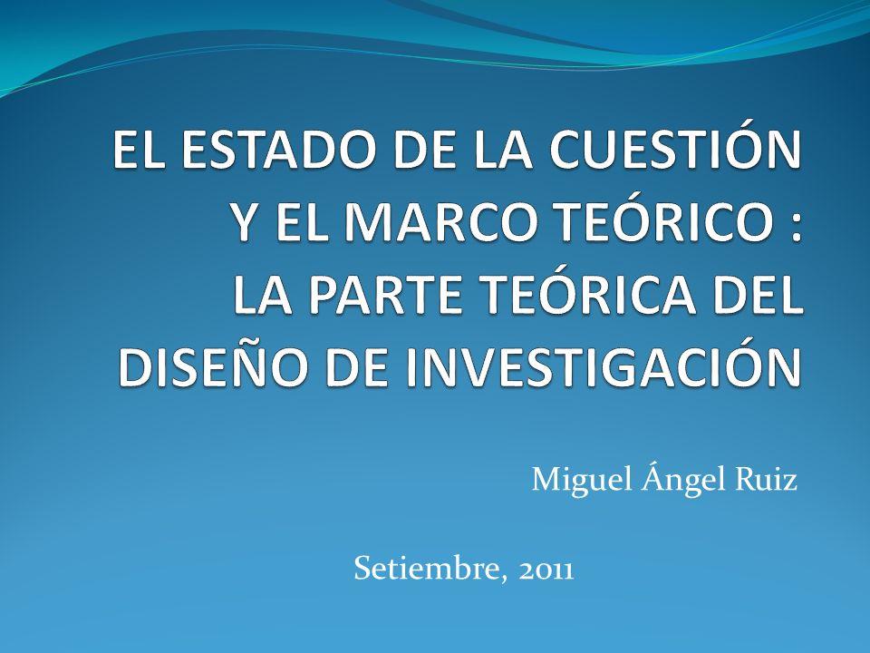 Miguel Ángel Ruiz Setiembre, 2011