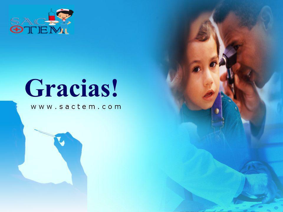Gracias! www.sactem.com