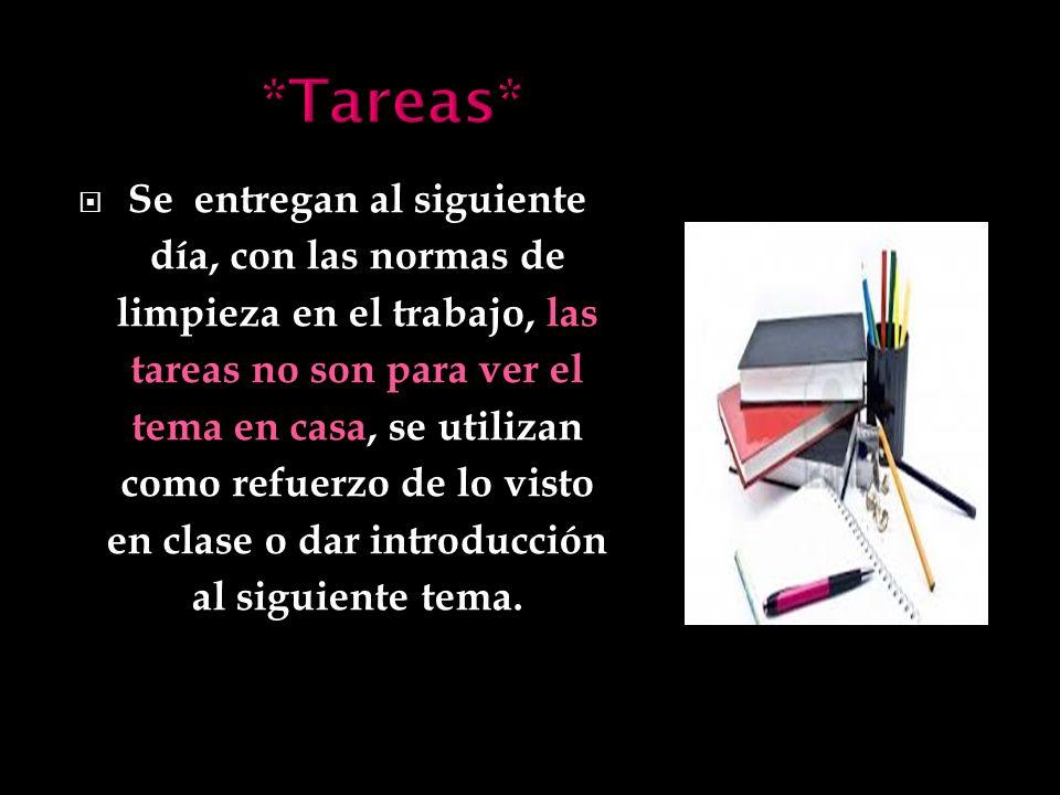 *Tareas*