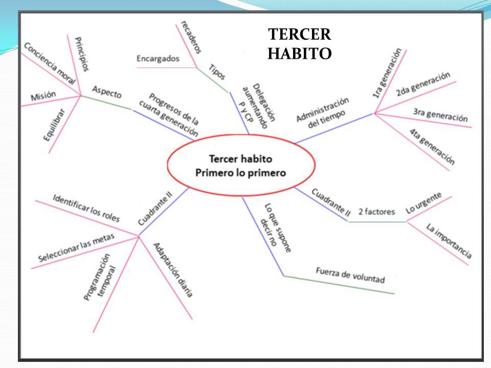 TERCER HABITO