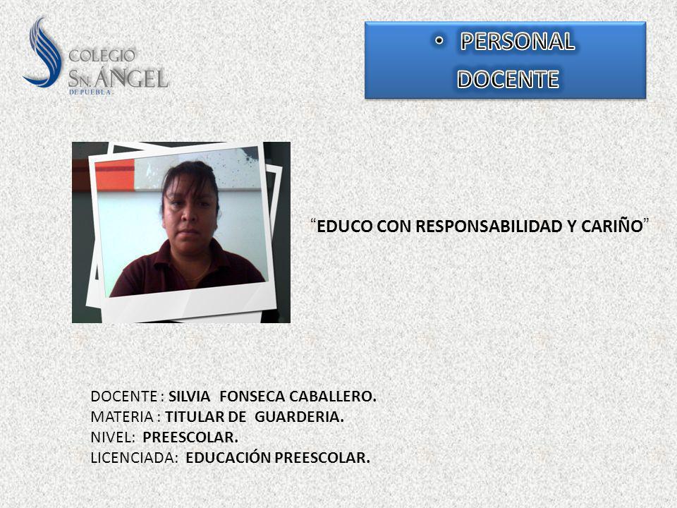 EDUCO CON RESPONSABILIDAD Y CARIÑO