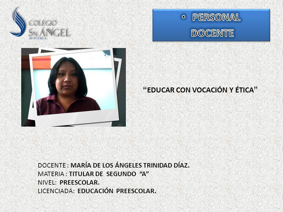 EDUCAR CON VOCACIÓN Y ÉTICA